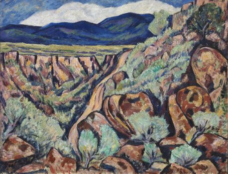 Landscape, New Mexico (1919 and 1920)