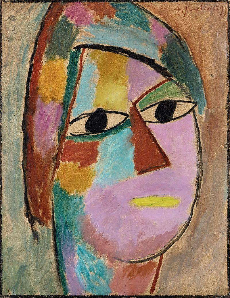 Mystical head (1917)