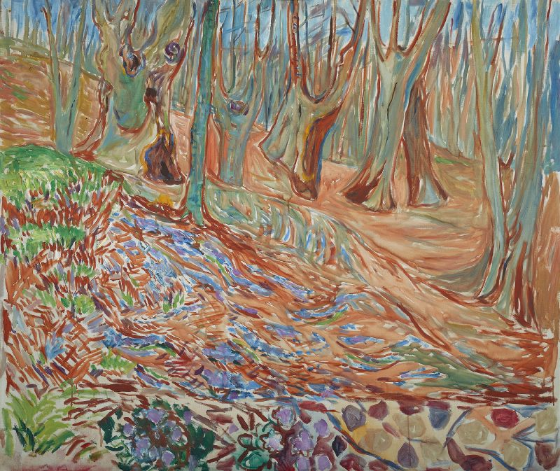 Elm Forest in Spring (ca. 1923)