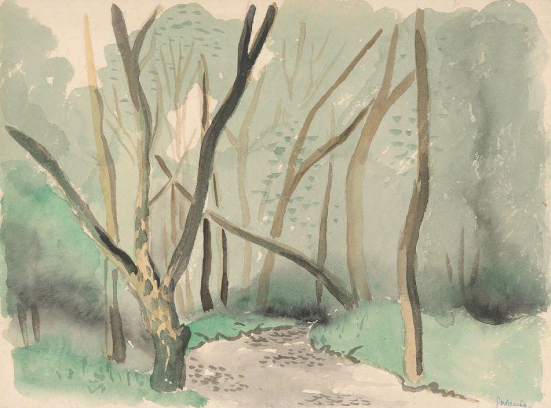 Landscape of the autumn park (1925–1926)