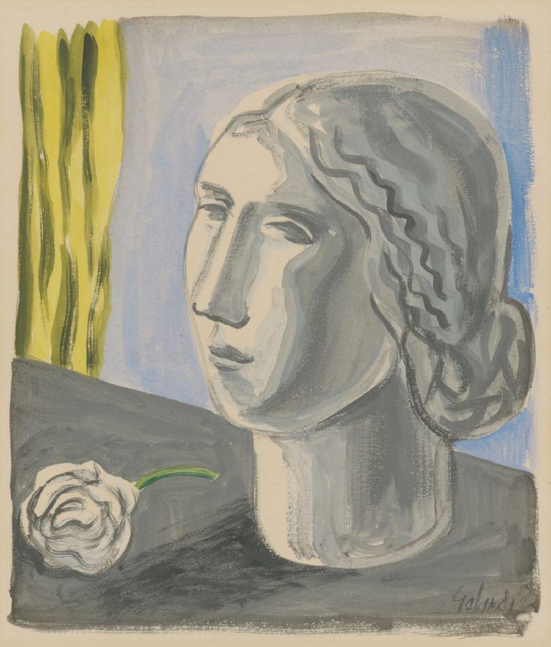 Woman's head (1930-1931)