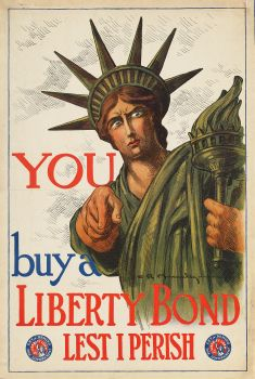 You buy a Liberty Bond lest I perish (1917)