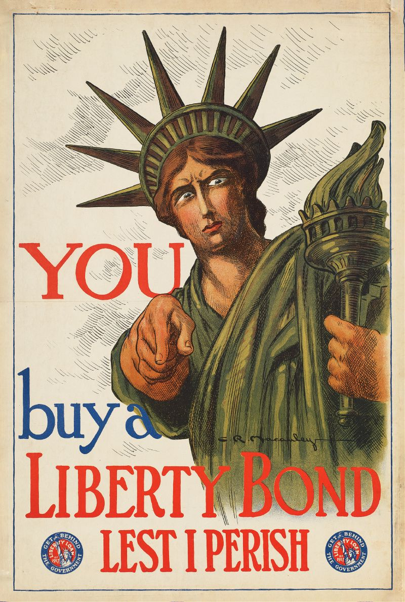 You buy a Liberty Bond lest I perish (1917)