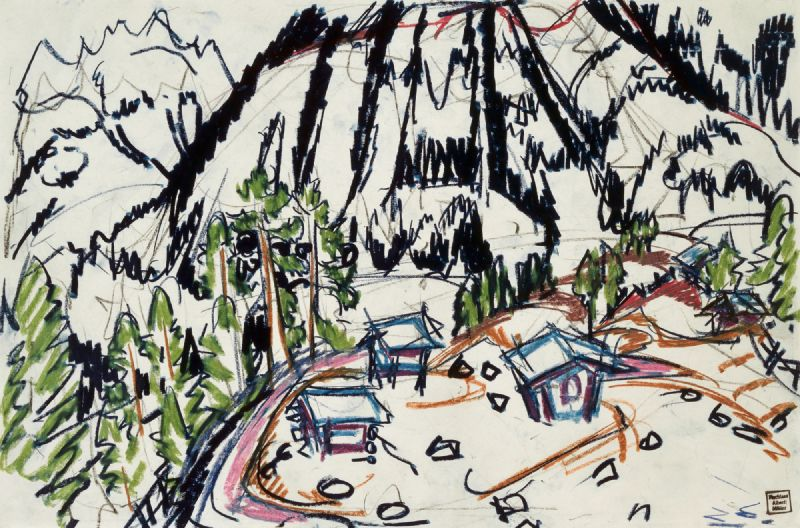 Alphütten (Frauenkirch) (1925)