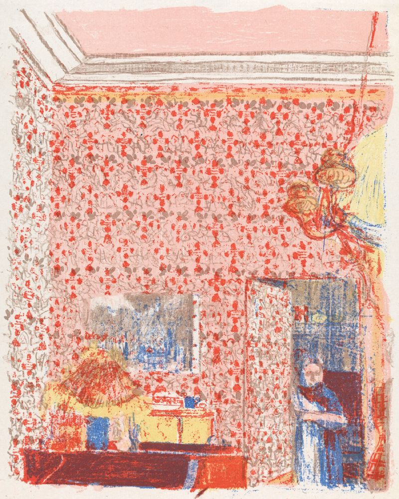 Interieur aux tentures roses I (1898 - 1899)