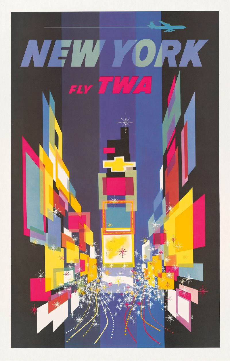 Fly TWA New York (1960)