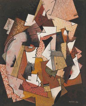 Composition au papier journal (1918)