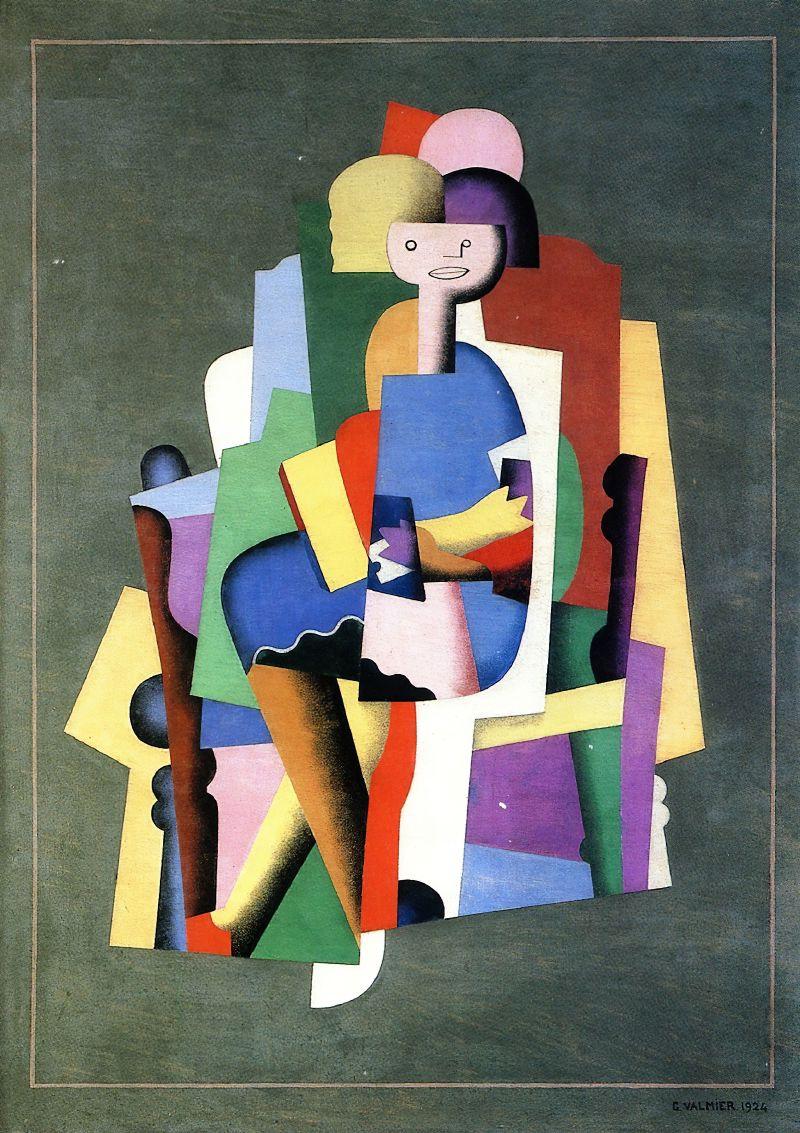 Girl reading (1924)