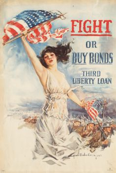 Fight or buy bonds (1919)