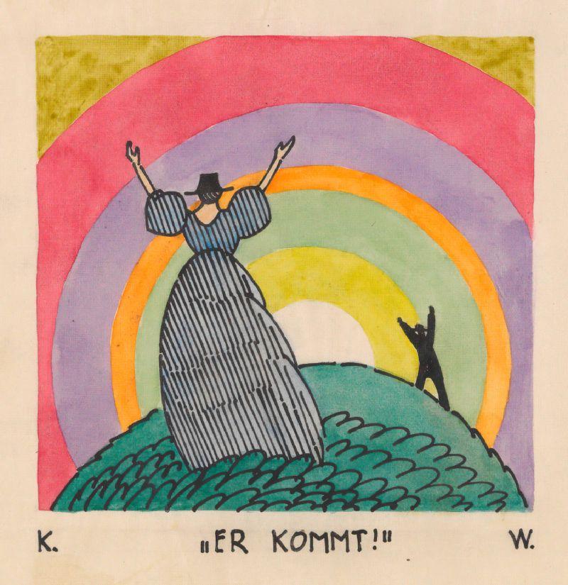 Er kommt! (around 1921)