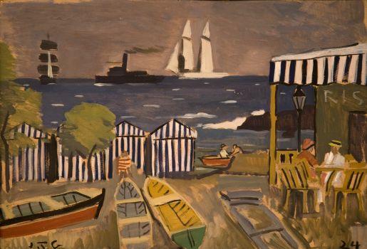 Paisaje de playa (1924)