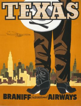 Texas. Braniff International Airways (1960)