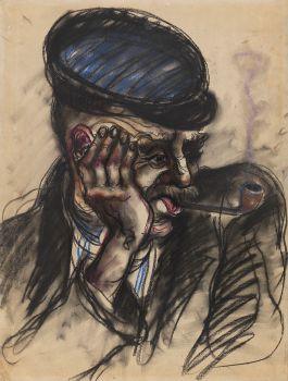 Porträt eines Hafenarbeiters (1930)