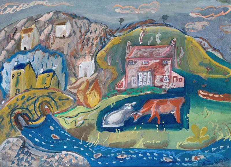 Solva (Fishing Village in Pembrokeshire) (1936)