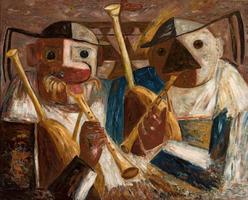 Bagpiper (Joueurs de biniou) (1929)
