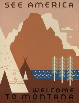 See America. Welcome to Montana (1936-1941)