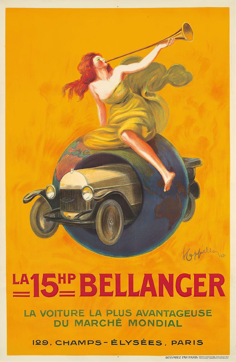 La 15hp Bellanger (1921)