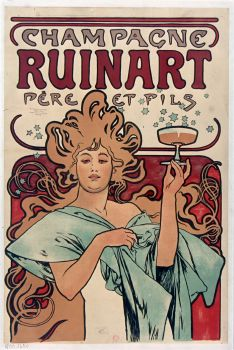 Champagne Ruinart Père Et Fils. (1896)