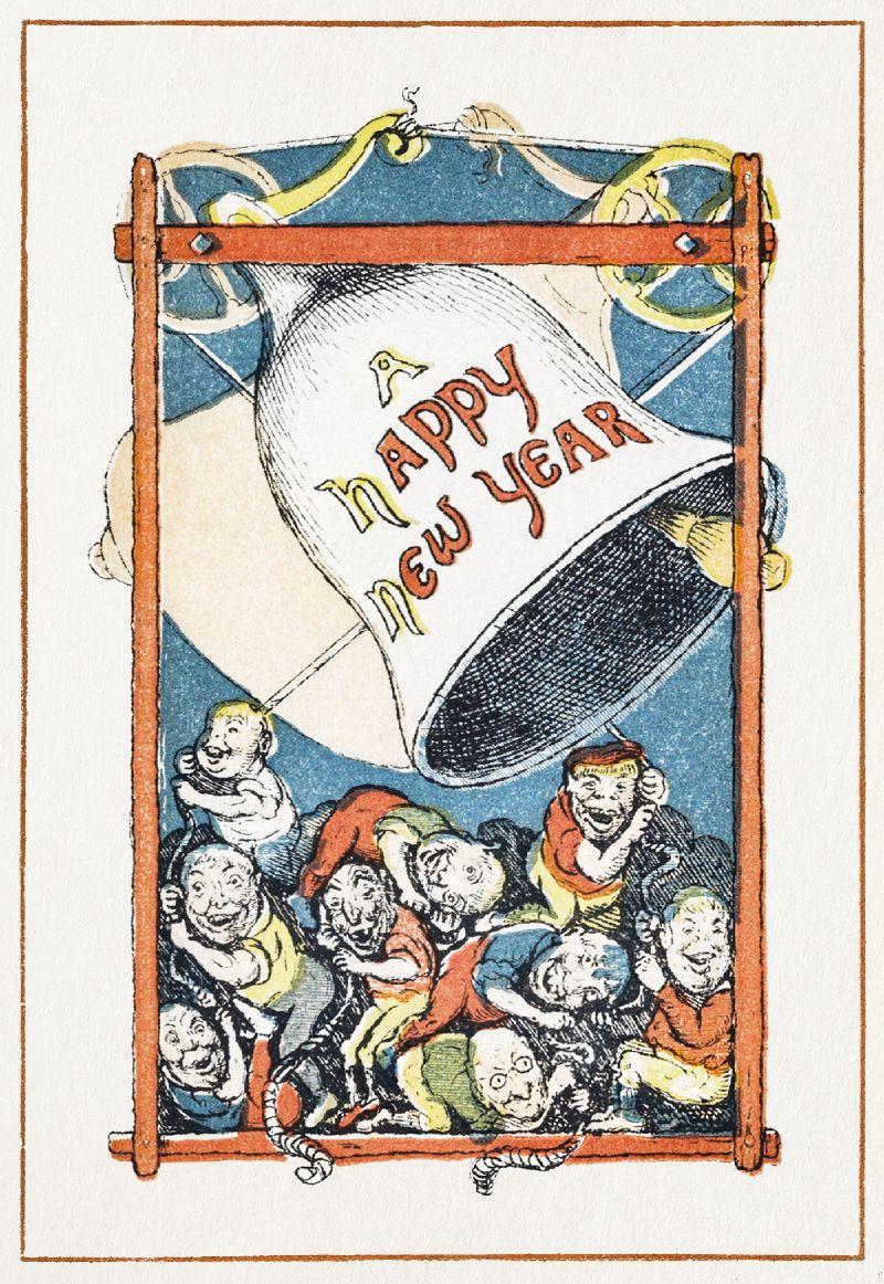 Greeting Card (1866)