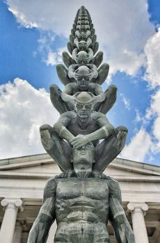 "Karma, 2010 Photo by: ""Buffalo Ny ~ Albright Knox Art Gallery ~ Karma'"