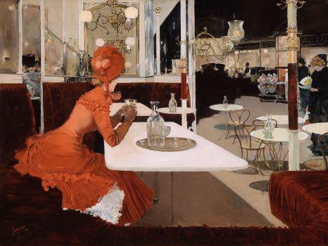 In the Café (1882)