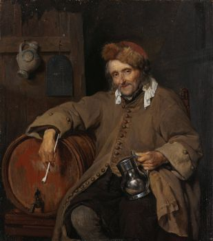 The Old Drinker (c. 1661 - c. 1663)