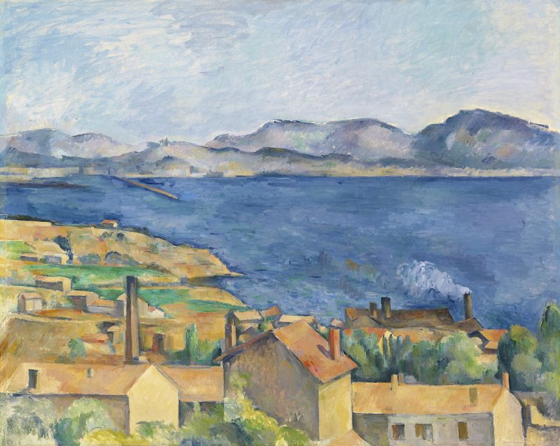 The Bay of Marseille, Seen from L'Estaque (ca. 1885)