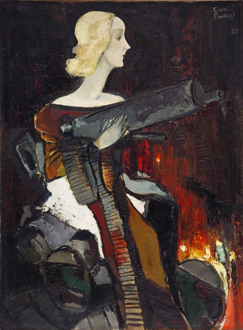 Madonna with a Machine Gunz