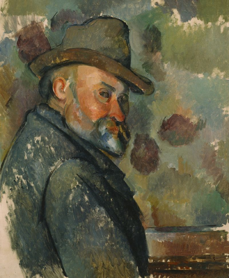 Self-Portrait with a Hat