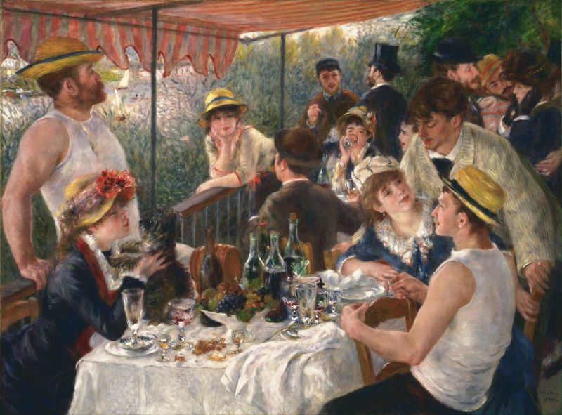 Luncheon of the Boating Party (c. 1860-1919)