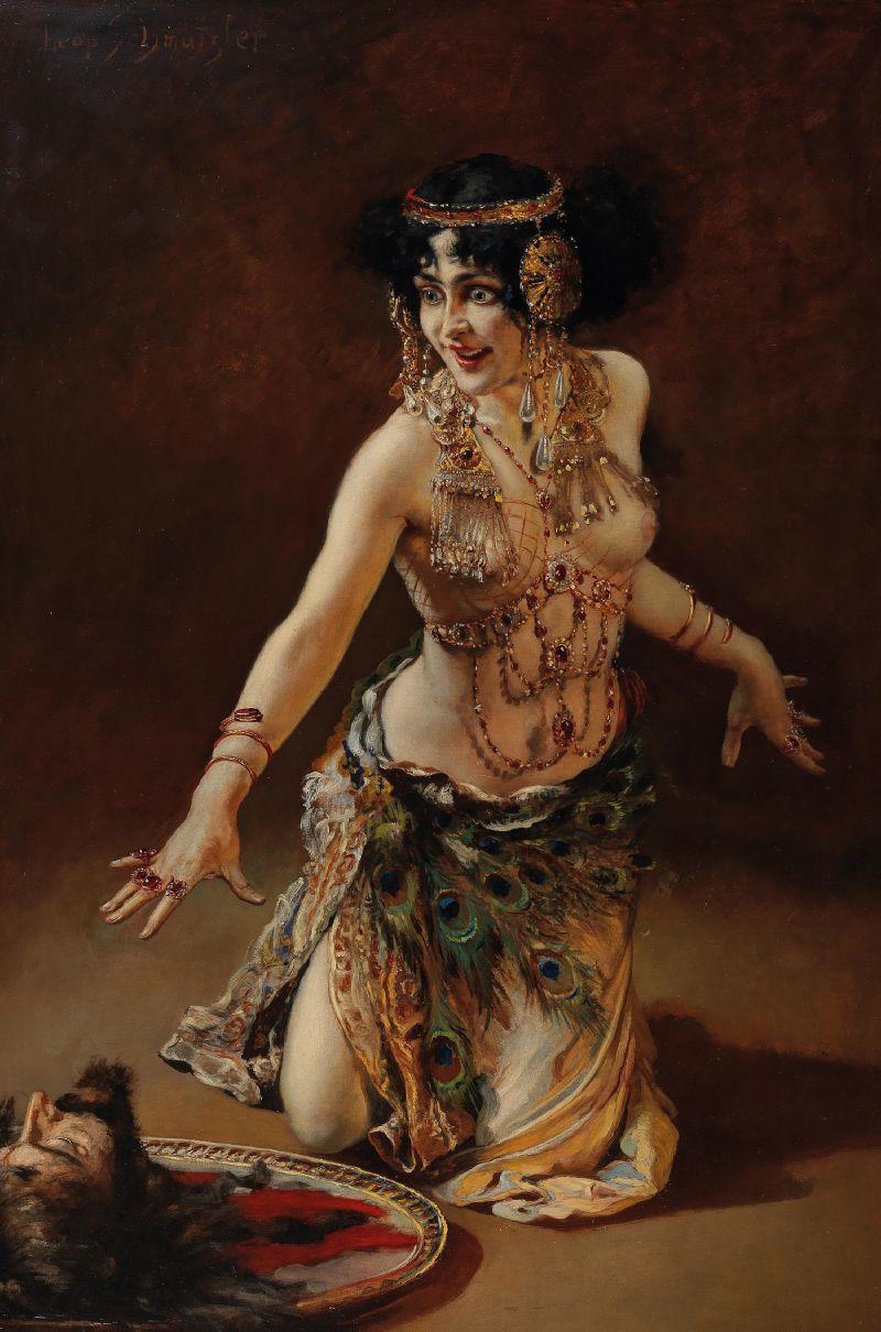 Lili Marberg as Salome (c. 1905)