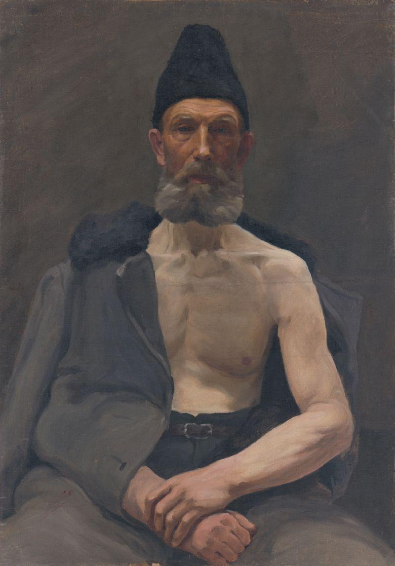 Study of a Russian Captive (1922)
