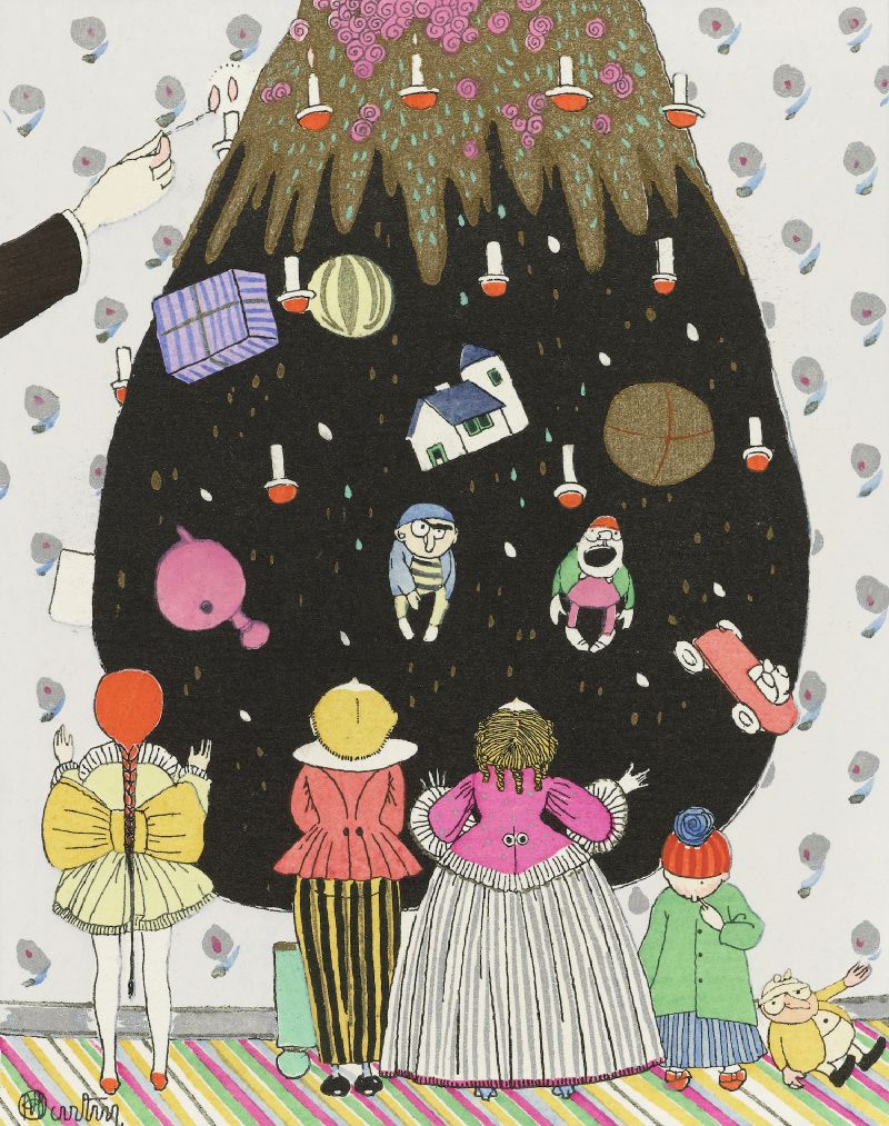 L'Arbre Merveilleux - Costumes d'enfants pour Nöel (1914)