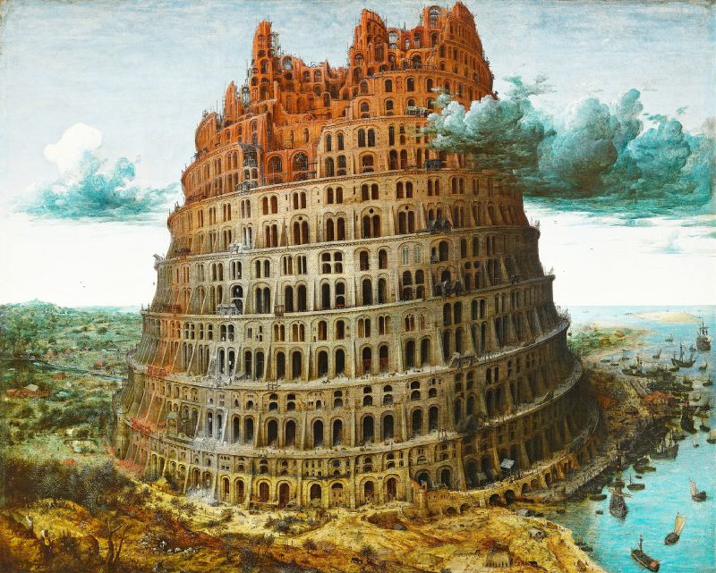 The Tower of Babel (circa 1563-1565)