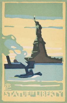 Statue of Liberty (1916) from Postcards: New York Series I