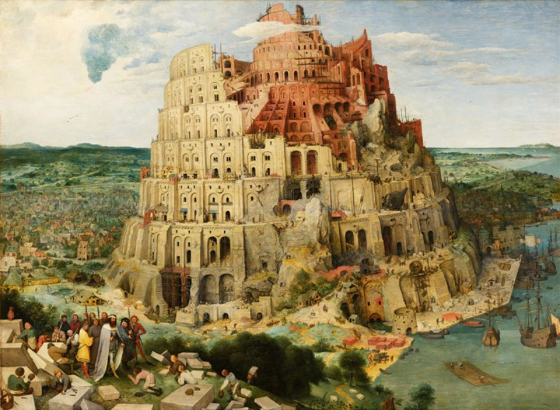 The Tower Of Babel (Vienna)