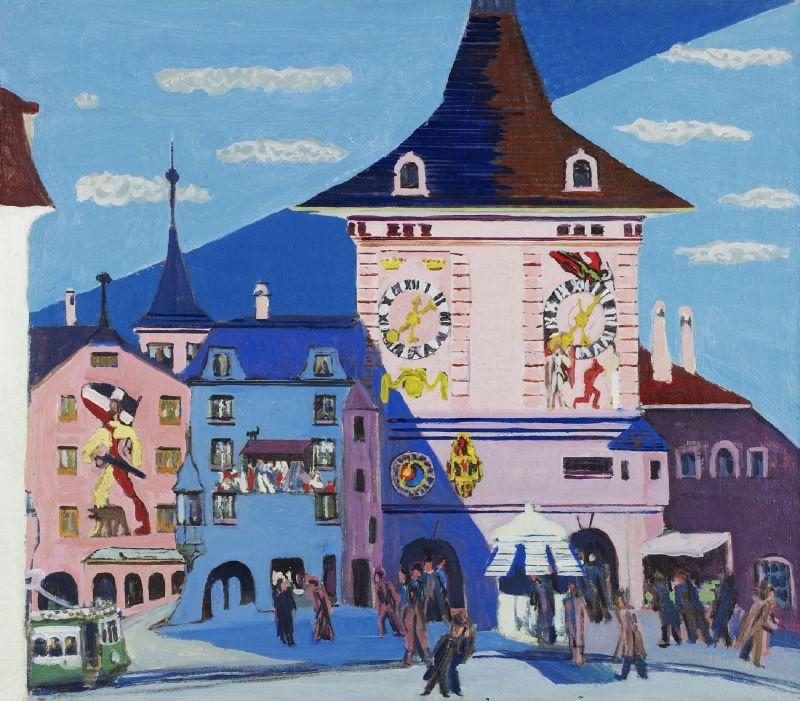 Bern with Belltower (1935)