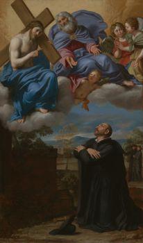 Saint Ignatius of Loyola's Vision of Christ and God the Father at La Storta (circa 1622)