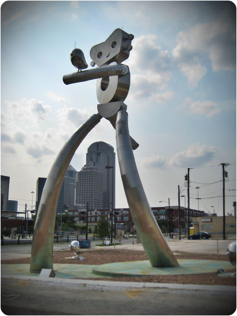 "Traveling Man ""Walking Tall"" (Photo: Neff Conner)"