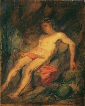 Drunk Bacchus (1875)