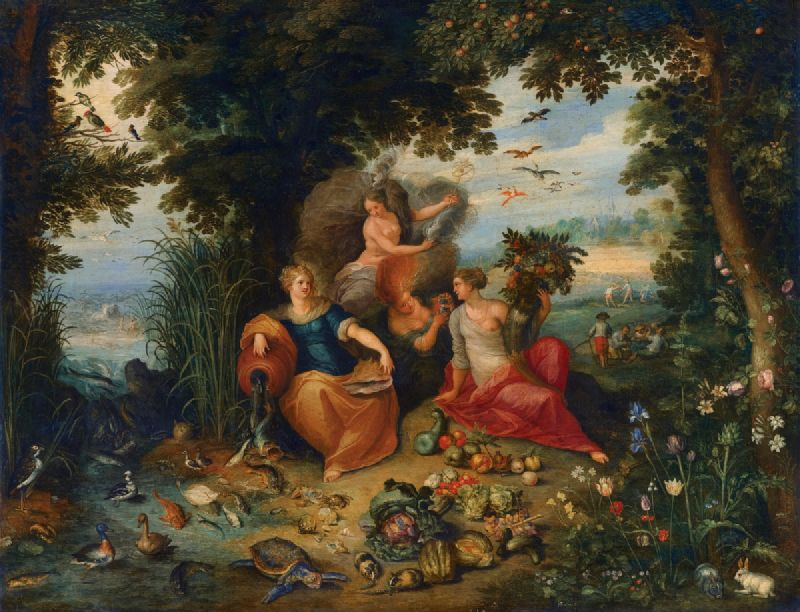 Allegory Of The Four Elements