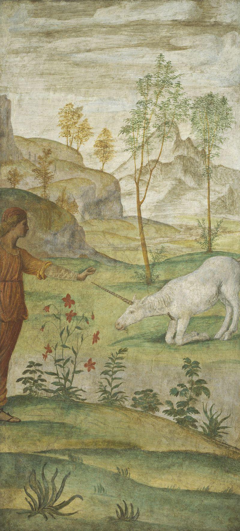 Procris and the Unicorn (c. 1520-1522)