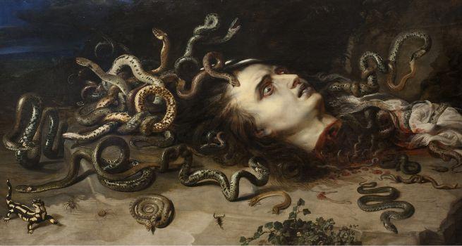 Head of Medusa (1617-1618)