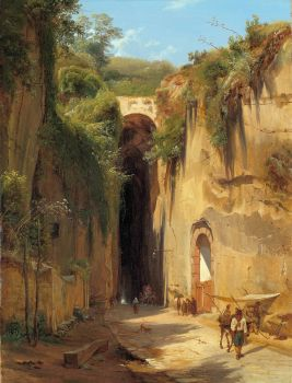 The Grotto of Posillipo at Naples (1826)