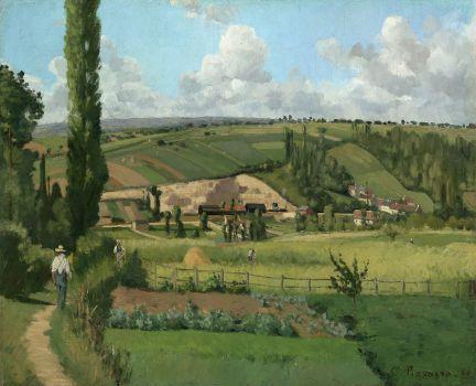 Landscape at Les Pâtis,Pontoise (1868)