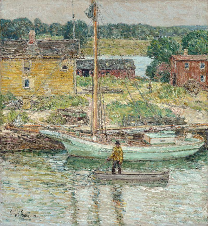 Oyster Sloop,Cos Cob (1902)