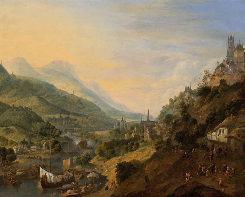 A Rheinish Landscape (ca. 1705)