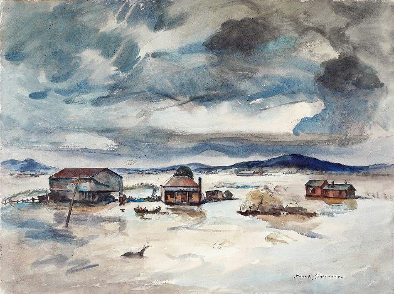 Flood near Maitland (1947-1948)