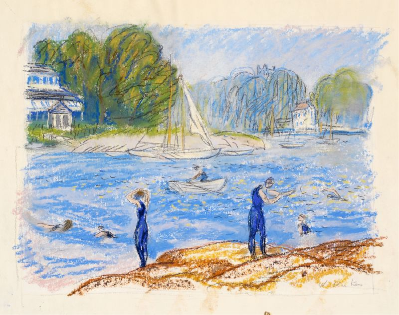 Bathers, Annisquam (1919)