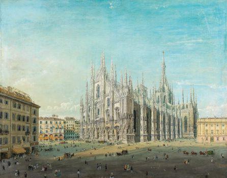 Piazza del Duomo, Milan (1830 - 1884)
